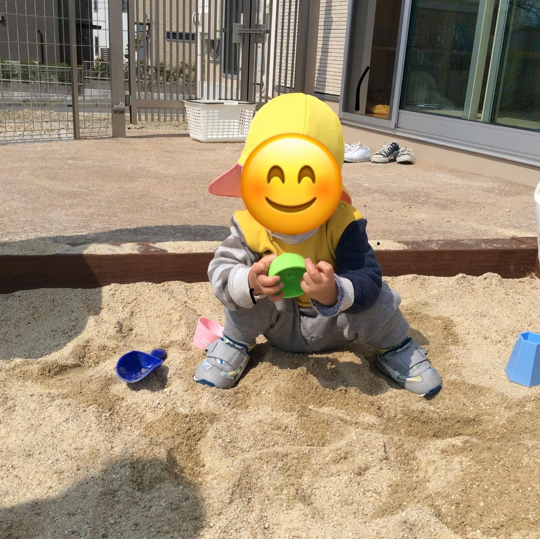 今日も園庭へ昨日のお砂場遊びが楽しかったようで今日もみんなニコニコで園庭へ。お天気が良くて気持ちいいね️#舞多聞そらの保育園#神戸市#垂水区#舞多聞#小規模保育園#舞多聞100年の杜